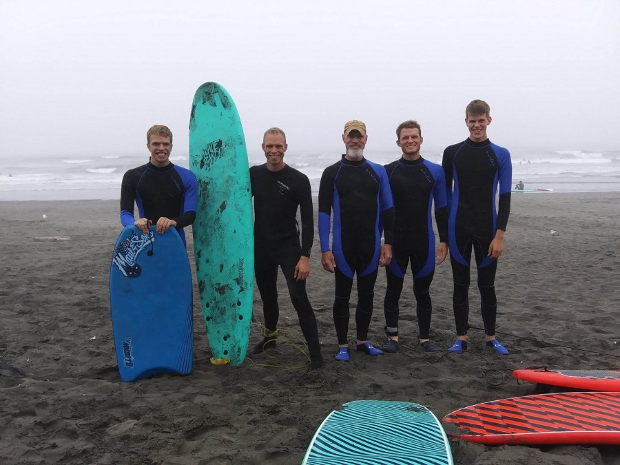 July 2021 surfing w sons