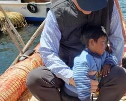 Adopted by Manu, Floating Islands of Lake Titicaca, Peru 2018