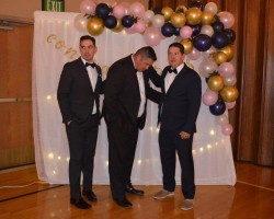 Me on the far left and my bro's.