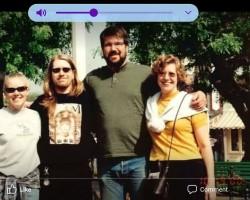 My siblings and me at Disneyland in 2000