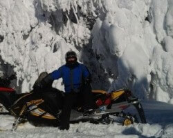 """Island Park snowmobiling...  with an average 10 feet of snow per year, and 500 miles of trails groomed every-other-night, this may be the real """"greatest snow of earth"""".  Our families have put it to the test every MLK weekend for nearly 20 years."""